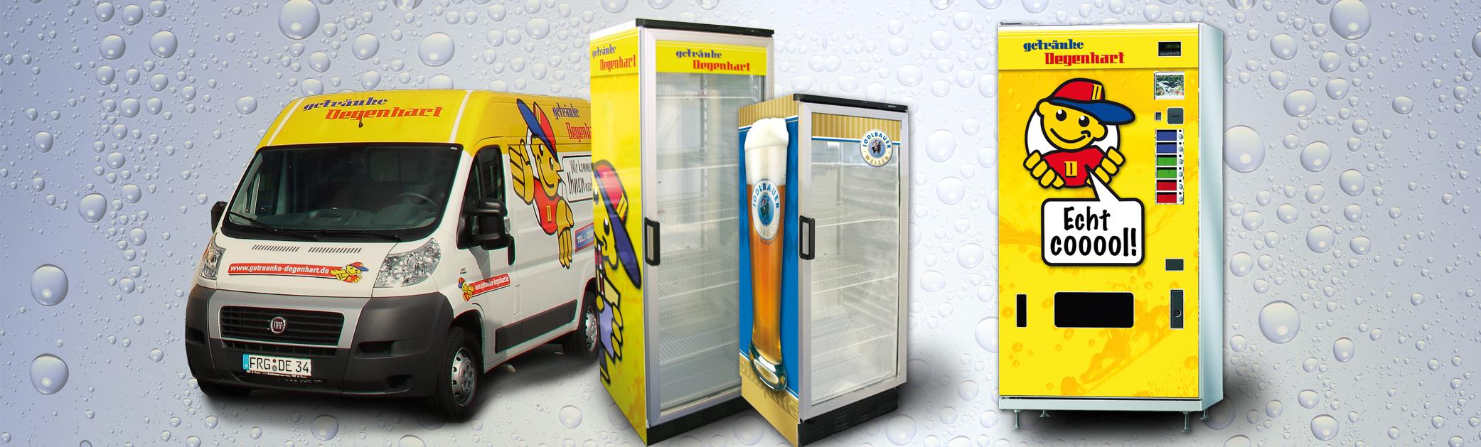 Getränke Degenhart - Getränkeautomaten von Getränke Degenhart